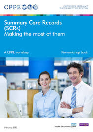 summary care records scrs making the most of them cppe