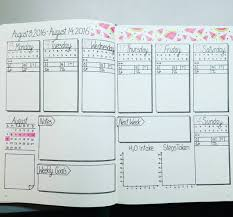 daily layout bullet journal how to start a bullet journal plus exles to get you started