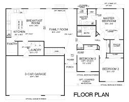 three car garage floor plans floor plans rebecca 3 car u2014 t r hughes homes