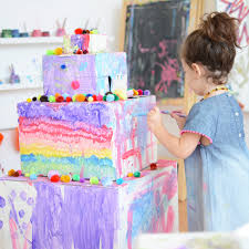 make birthday cake cardboard birthday cake meri cherry