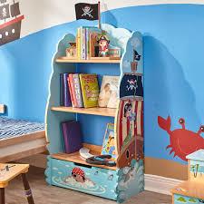 fantasy fields by teamson pirate children u0027s 106 05cm bookcase