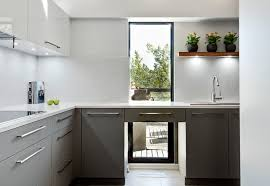 modern kitchen without cabinets the pros and cons of kitchen cabinets and open shelves
