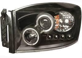 2007 dodge dakota lights 2006 2007 dodge ram halo projector headlights black clear 02 az