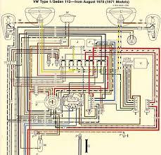 vw beetle electrical wiring diagram volkswagen wiring diagrams