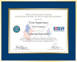 What Is Employer Mean Employer Support Of The Guard And Reserve U003e Employer Awards