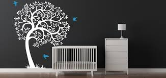 Wall Tree Decals For Nursery Tree Removable Wall Decal Nursery Tree Decal