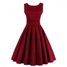 rochii vintage rochie midi vintage cu pliuri inchidere cu fermoar la spate rochii