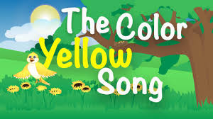 colors yellow the color yellow song yellow song for kids learn the colors