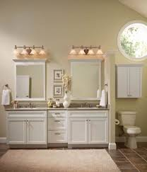 home decor white freestanding bathroom cabinet lighting for