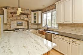 antique beige kitchen cabinets glacier white granite kitchen contemporary with kitchen island