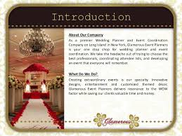 wedding event coordinator glamorous event planners company profile