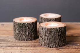 Tree Branch Candle Holder Rustic Candle Holder