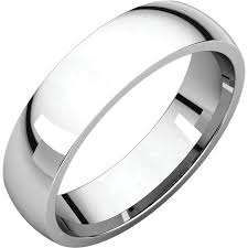 mens comfort fit wedding bands 14k white gold 5mm comfort fit band donna jewelry co