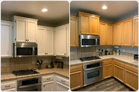 chalk paint kitchen cabinets images how to refinish your kitchen cabinets brushed by