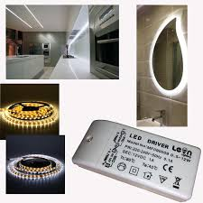 2 x 1m ip65 waterproof led under cabinet strip light warm or cool