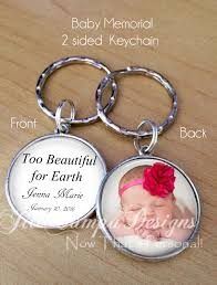 remembrance keychain baby memorial keychain photo memorial keychain sympathy gift