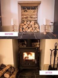 fifi mcgee before u0026 after fitting a woodburning stove