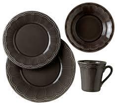 naperon 16 dinnerware set contemporary dinnerware sets