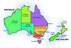 auckland australia map affordable travel club australia and new zealand map