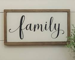home decor family signs family signs etsy