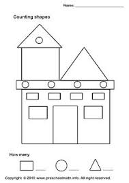 preschool house shape template u2026 pinteres u2026