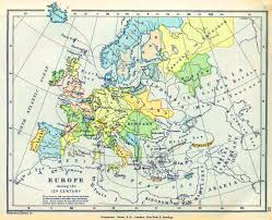Eastern Europe Political Map by Map Of Europe During The 15th Century