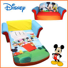 mickey mouse clubhouse flip open sofa with slumber mickey mouse flip open sofa radkahair org home design ideas