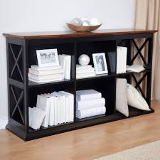 6 Bookcase Belham Living Hampton Tv Stand Bookcase Black Oak Hayneedle