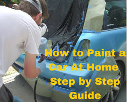 how to spray paint a car how to paint a car at home how to use a