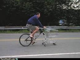 Shopping Cart Meme - shopping cart locked in public bike rack justpost virtually