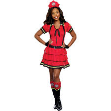 fire fighter women u0027s halloween costume walmart com