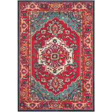 Turquoise Area Rug Safavieh Monaco Red Turquoise 5 Ft 1 In X 7 Ft 7 In Area Rug