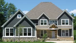 Two Story Craftsman Brick Craftsman Two Story House Plans Homeca