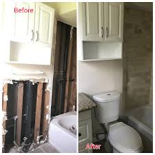 Bathroom Before And After by Real Estate Marlon Check Out This Before And After Bathroom