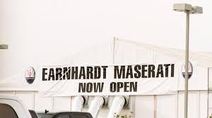maserati dealership earnhardt maserati dealership delivers no bull luxury
