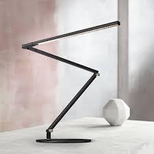 Modern Desk Light 3 Z Bar Daylight Led Desk L Black With Touch Dimmer