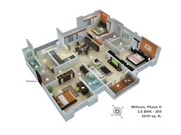 bedroom bath house plans plan nice home 6 4 kevrandoz