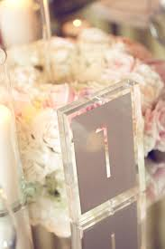 acrylic table numbers wedding wedding table number galore part 2 belle the magazine
