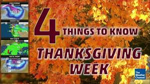 five things to about the weather for thanksgiving week the