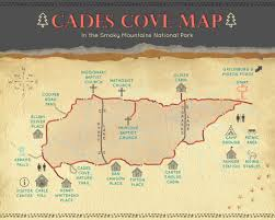 Pigeon Forge Tennessee Map by The Only Cades Cove Map U0026 Loop Road Guide You U0027ll Ever Need