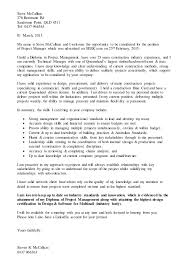 mccallum steve project manager cover letter