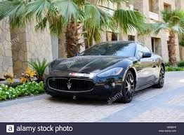 maserati luxury the luxury maserati granturismo car is near luxurious hotel dubai