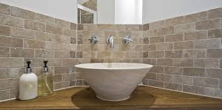 Travertine Tiles Your Bathroom TFO - Travertine in bathroom