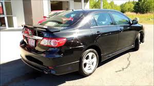 2012 toyota corolla s for sale 15618a toyota corolla s 4dr aut black bathurst honda certified