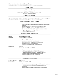 resume skills and abilities administrative assistant medical administrative assistant resume template design healthcare