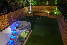 outdoor and garden lighting system design supply and installation