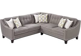 Rooms To Go Sofas And Loveseats by Shop For A Cindy Crawford Home State Street 2 Pc Mineral Sectional