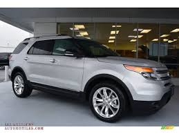 Ford Explorer Xlt - ingot silver medium light stone ford explorer xlt 2015 ford