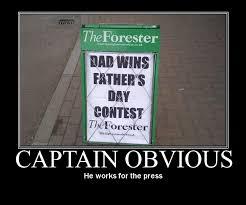Captain Obvious Meme - image 159367 captain obvious know your meme