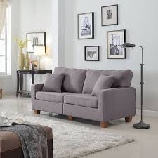 living room comfortable grey couches for modern room design ideas